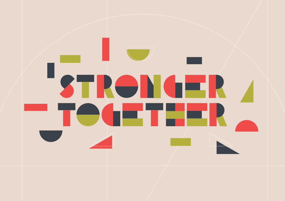 Stronger together building blocks