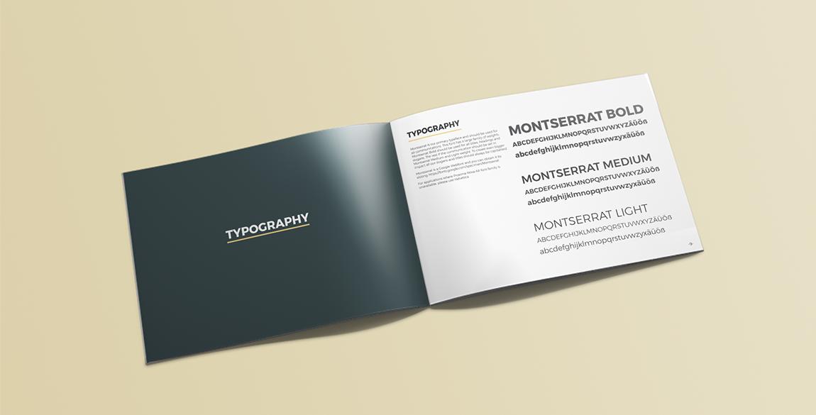 Freiwilligenarbeit Branding Booklet Mockup 5