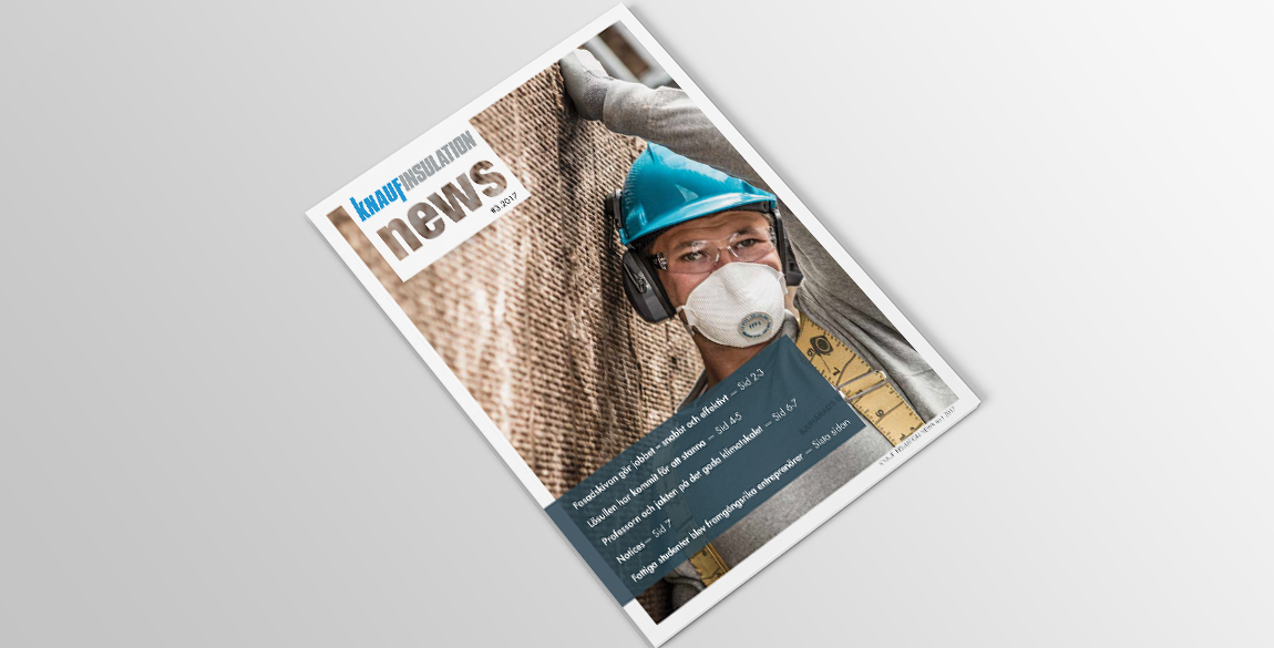 Nordic Insulation Newsletter Design Front Page