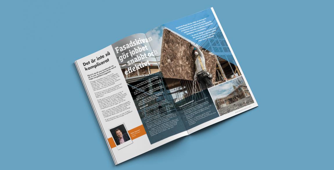 Nordic Newsletter Design inside pages