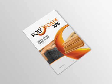 Ravatherm Polyfoam Solutions Guide Front Cover Brochure Design