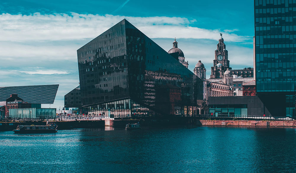 Photograph and Liverpool Mann Island