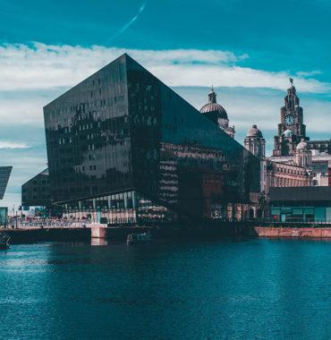 Photograph and Liverpool Mann Island